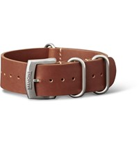 Bremont Hambleden Leather Watch Strap Brown
