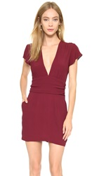 Flynn Skye Olivia Mini Dress Merlot