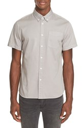 Saturdays Surf Nyc Men's Esquina Sport Shirt Slate