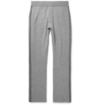 Berluti Two Tone Wool And Cashmere Blend Sweatpants Gray