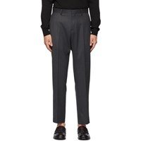 Tiger Of Sweden Grey Cone Trousers