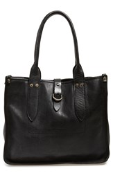 Frye 'Amy' Leather Shopper Black