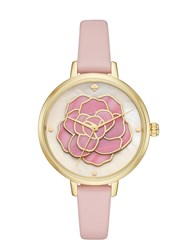 Kate Spade Metro Rose Watch Ballet Slipper Gold