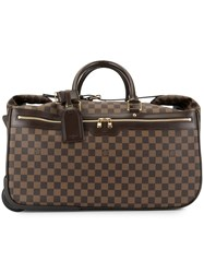 Louis Vuitton Vintage Eole 50 Travel Bag Brown