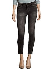 Calvin Klein Skinny Fit Washed Jeans Cement Wash