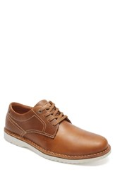 Rockport Cabot Plain Toe Derby Tan Tan Leather