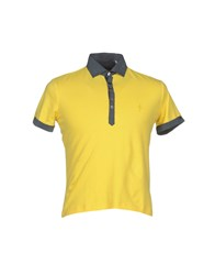 Cesare Paciotti 4Us Topwear Polo Shirts Men Yellow