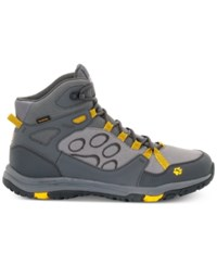 Jack Wolfskin Activate Mid Texapore Waterproof Hiking Boots From Eastern Mountain Sports Burly Yellow