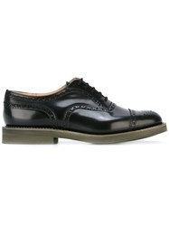 Church's Brogued Oxfords Black