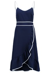 Mintandberry Summer Dress Navy Dark Blue