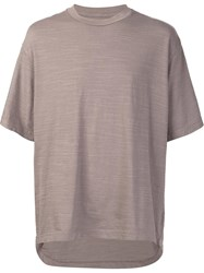 321 Boxy T Shirt Grey