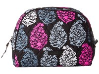 Vera Bradley Large Zip Cosmetic Northern Lights Cosmetic Case White