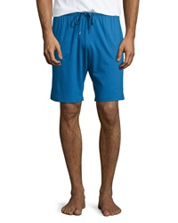 Derek Rose Jersey Lounge Shorts Blue