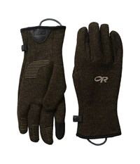 Outdoor Research Flurry Sensor Gloves Earth Extreme Cold Weather Gloves Brown