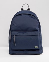 Lacoste Backpack In Navy Navy