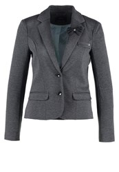 Only Onlarial Blazer Dark Grey Melange Mottled Dark Grey