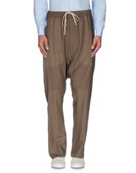 Rick Owens Trousers Casual Trousers Men Khaki