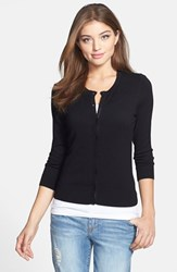 Women's Halogen Three Quarter Sleeve Cardigan
