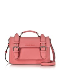 Armani Jeans Light Geranio Eco Leather Shoulder Bag Pink