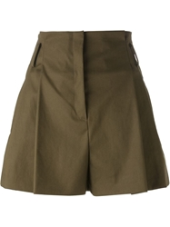 N.21 A Line Pleat Shorts