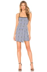Privacy Please Barrett Mini Dress Blue