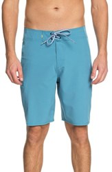 Quiksilver Big And Tall Waterman Collection Makana Boardshorts Blue Moon