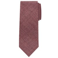 John Lewis Plain Wool Tie Berry