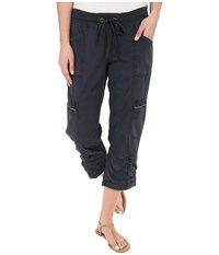 Xcvi Emerson Crop Charcoal Women's Casual Pants Gray