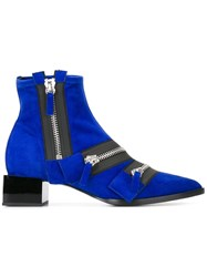 Pierre Hardy 'Lou' Ankle Boots Blue