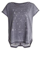 Venice Beach Katie Fitness Yoga Periscope Dark Grey
