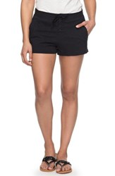 Roxy 'S Sunset Pie Cotton Shorts Anthracite