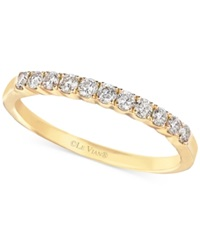 Le Vian Diamond Wedding Band In 14K Gold 1 3 Ct. T.W. Yellow Gold