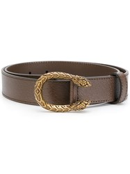 Gucci Dionysus Buckle Belt Calf Leather Brown