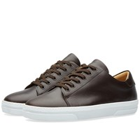 A.P.C. Jean Tennis Sneaker Brown