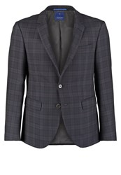 Joop Hogen Suit Jacket Marine Dark Blue