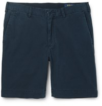 Polo Ralph Lauren Cotton Twill Chino Shorts Blue