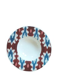 Les Ottomans Digitally Printed Ceramic Dinner Plate