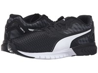 Puma Ignite Dual Black White Men's Running Shoes