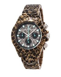 Toywatch Imprint Reptile Plasteramic Chronograph Watch Taupe