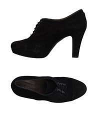 L'amour Lace Up Shoes Black