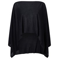 Jacques Vert Knitted Wrap Black