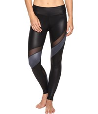 Beyond Yoga Gloss Over Waves Leggings Black Rocky Gloss Women's Casual Pants