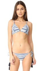 Somedays Lovin Ipanema Triangle Bikini Top Multi
