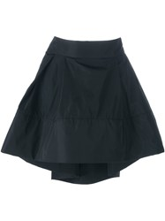Io Ivana Omazic Pleated Short Skirt Black