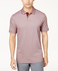 Tasso Elba Men's Classic Fit Supima Blend Cotton Polo Only At Macy's Port Royale