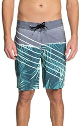 Quiksilver Highline Palm Board Shorts Tropic Green
