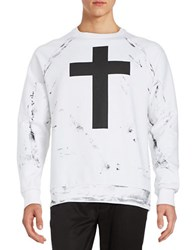 Mattson Cross Sweatshirt White