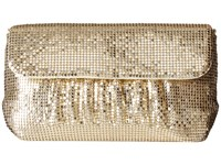Jessica Mcclintock Danielle Mesh Clutch Light Gold Clutch Handbags