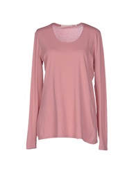Schumacher Long Sleeve T Shirts Pastel Pink