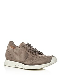 Buttero Carrera Lace Up Sneakers Taupe